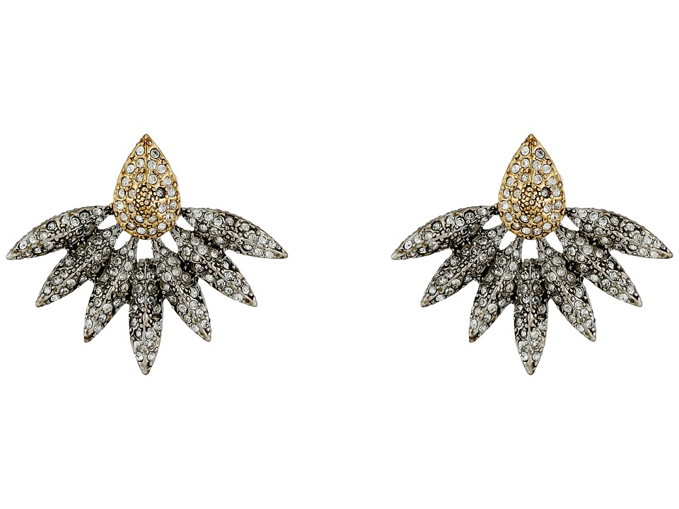 House of Harlow 1960 - Kaleidoscope Statement Earrings (Gold/Silver) Earring