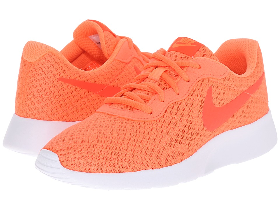 Nike - Tanjun (Bright Mango/White/Bright Crimson) Women's Running Shoes