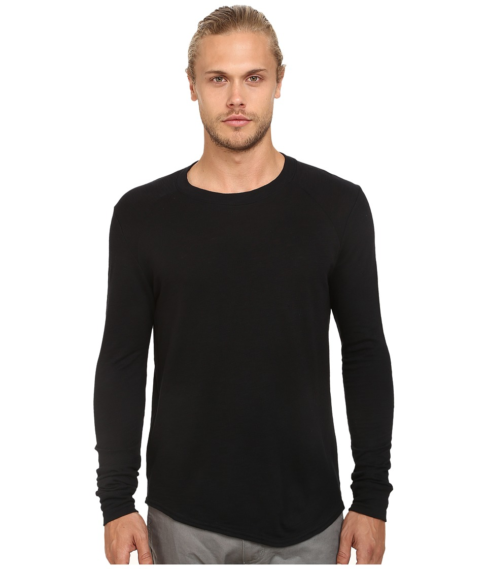 UNCL - Long Sleeve Raglan (Black) Men's Long Sleeve Pullover
