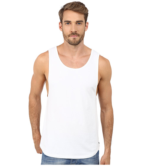UNCL - Loose Tank Top (White) Men's Sleeveless