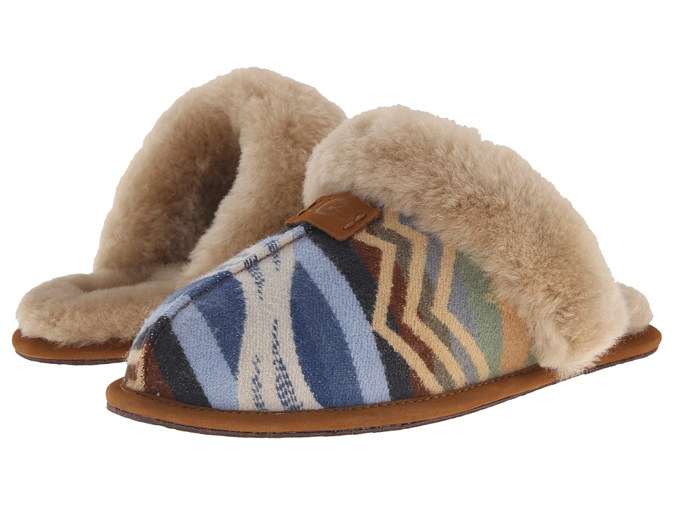 UGG - Scuffette Pendleton (Chestnut) Women's Slippers