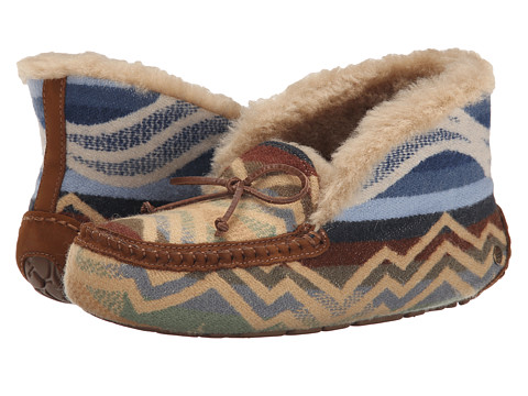 UGG - Alena Pendleton (Chestnut) Women's Slippers