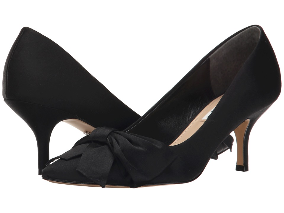 Nina - Bertina (Black) Women's 1-2 inch heel Shoes