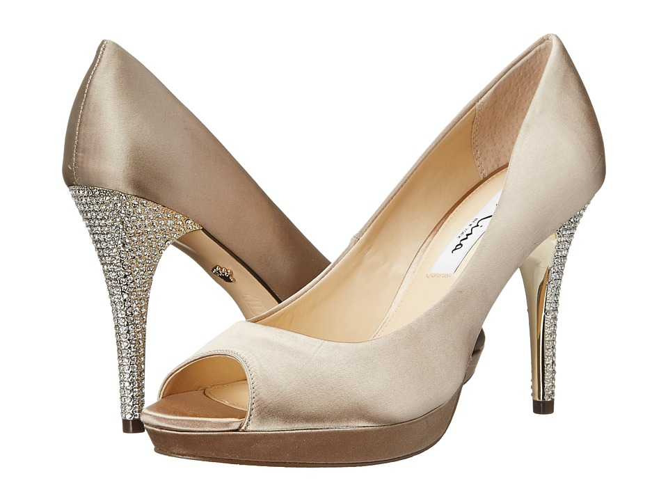 Nina - Fiorah (Champagne) High Heels