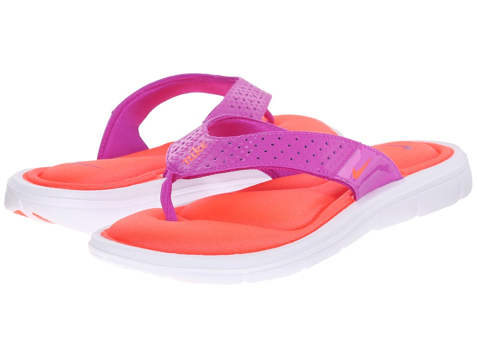 Nike - Comfort Thong (Hyper Violet/Bleached Lilac/Total Crimson) Women's Sandals