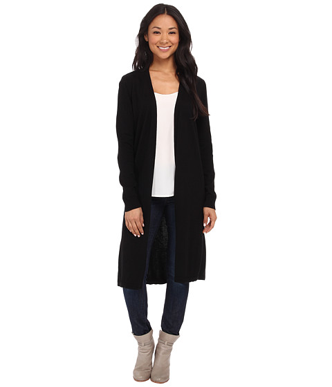 Vince Camuto - Maxi Cardigan (Rich Black) Women's Sweater