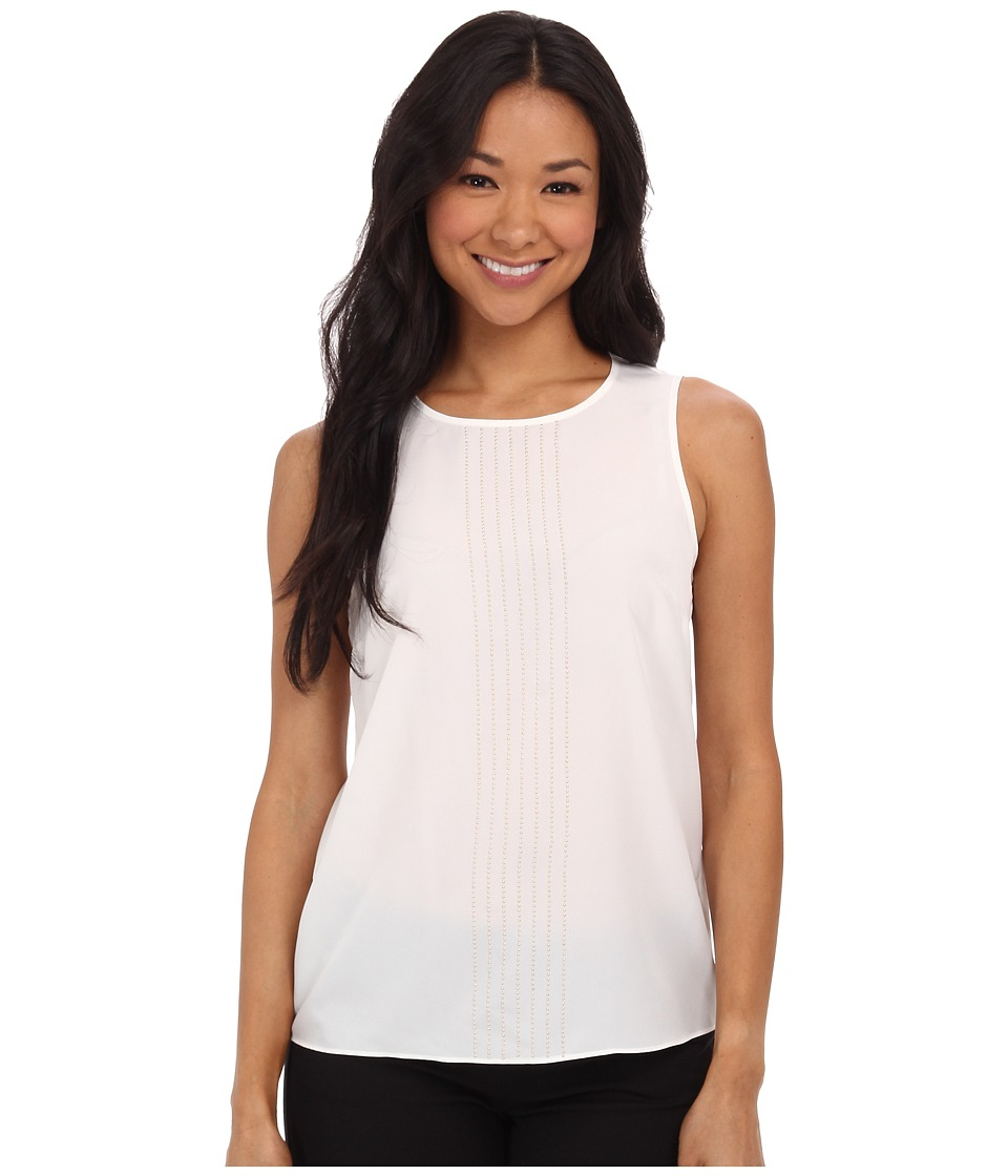 MICHAEL Michael Kors - Sleeveless Top (Cream) Women's Sleeveless