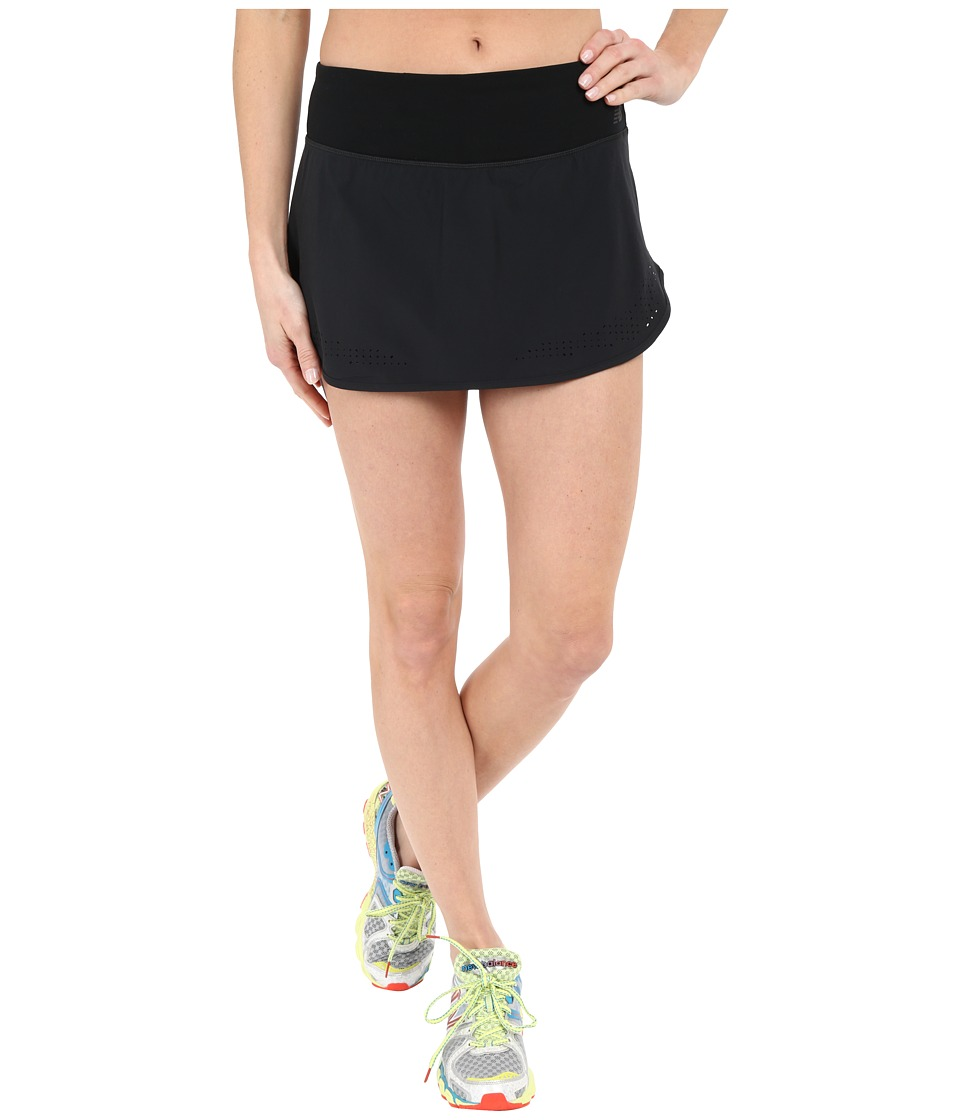 New Balance - Woven Skort (Black) Women's Skort