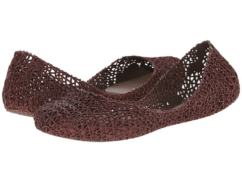 Melissa Shoes - Campana Papel VI (Brown Glitter) Women