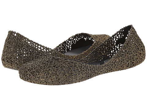 Melissa Shoes - Campana Papel VI (Green Glitter) Women's Shoes