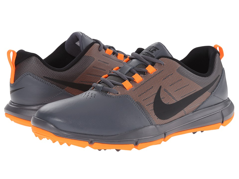 Nike Golf - Explorer SL (Dark Grey/Total Orange/Black) Men's Golf Shoes