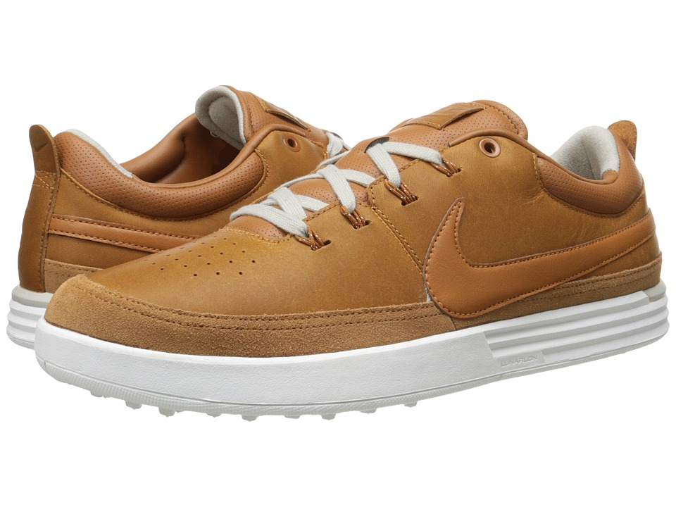 Nike Golf - Lunarwaverly (Tawny/Lunar Grey/Summit White/Tawny) Men's Golf Shoes