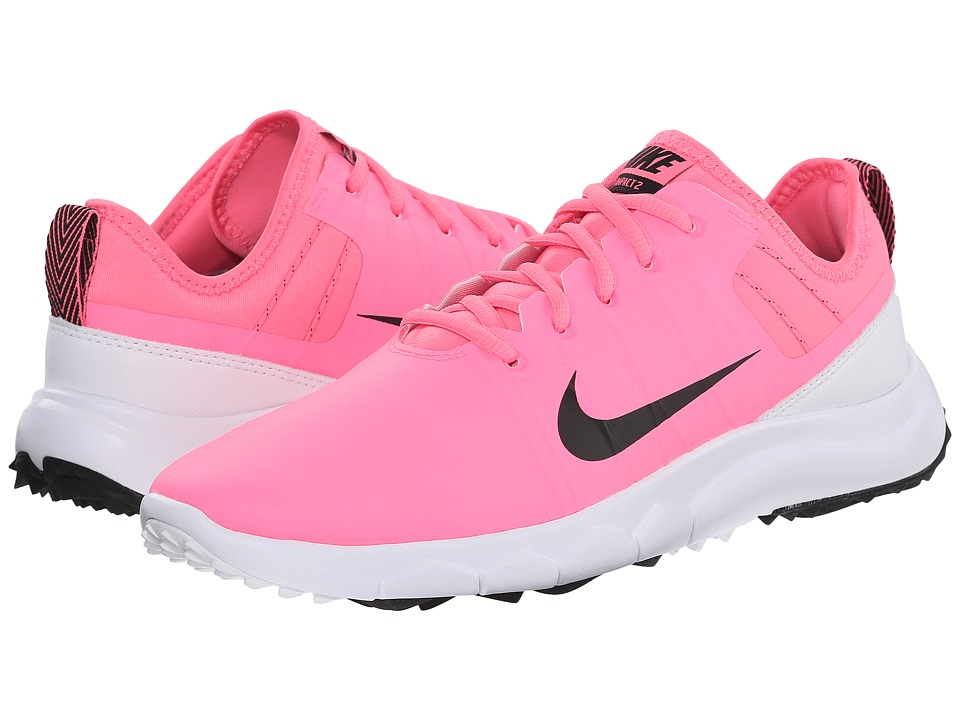 Nike Golf - FI Impact 2 (Pink Pow/Vivid Pink/White/Black) Women's Golf Shoes