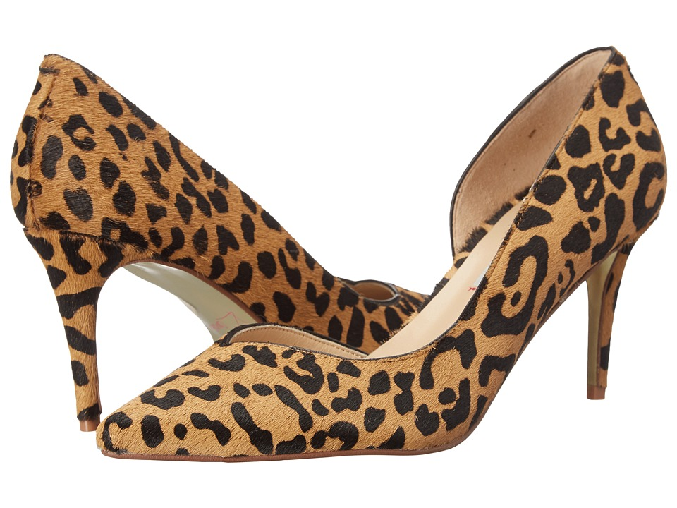 Kristin Cavallari - Oracle D Orsay Pump (Tan Leopard) Women's 1-2 inch heel Shoes