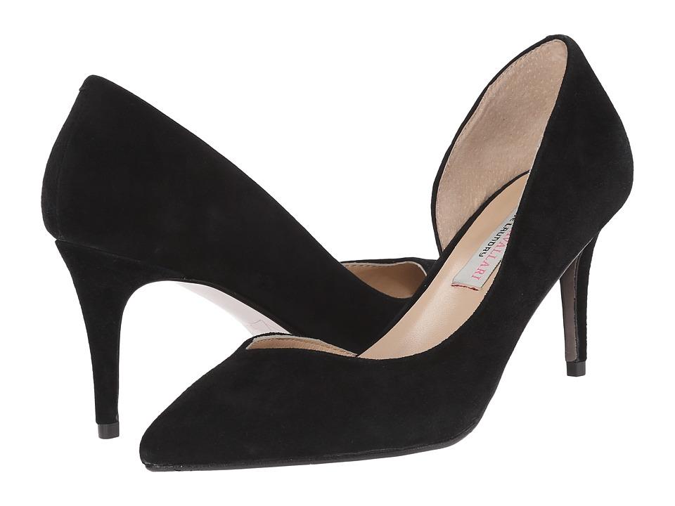 Kristin Cavallari - Oracle D Orsay Pump (Black Kid Suede) Women's 1-2 inch heel Shoes