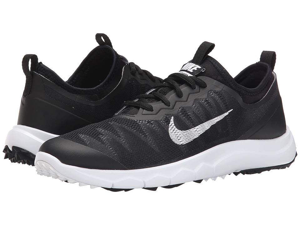 Nike Golf - FI Bermuda (Black/White) Women's Golf Shoes