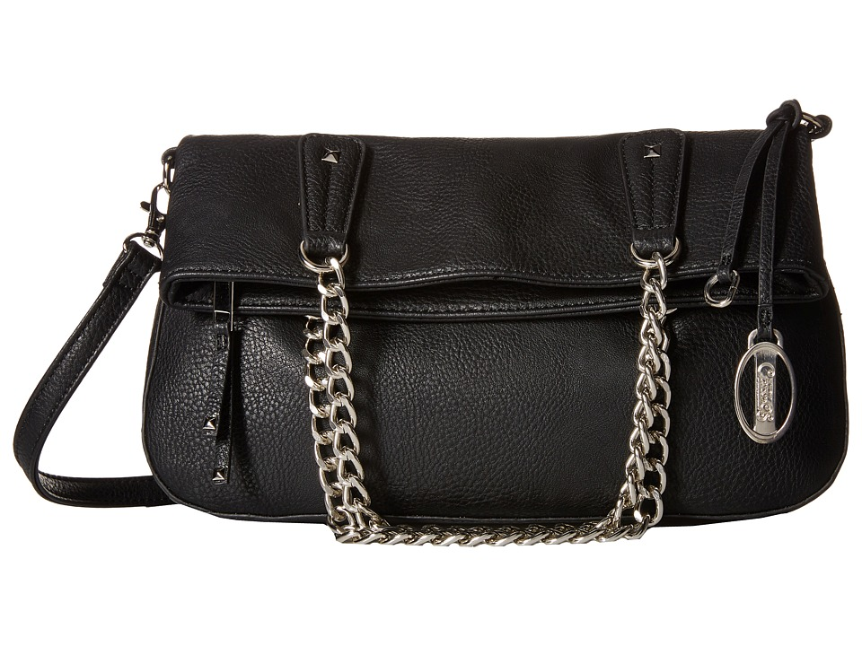 CARLOS by Carlos Santana - Foldover (Black) Handbags