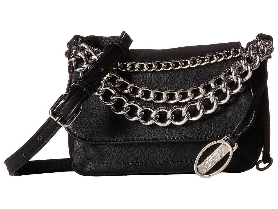 CARLOS by Carlos Santana - Small Flap (Black) Cross Body Handbags
