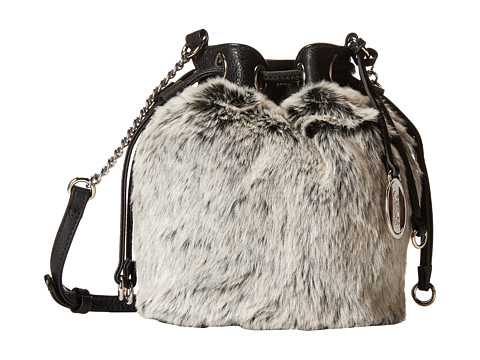 CARLOS by Carlos Santana - Draw Crossbody (Grey/Black) Cross Body Handbags