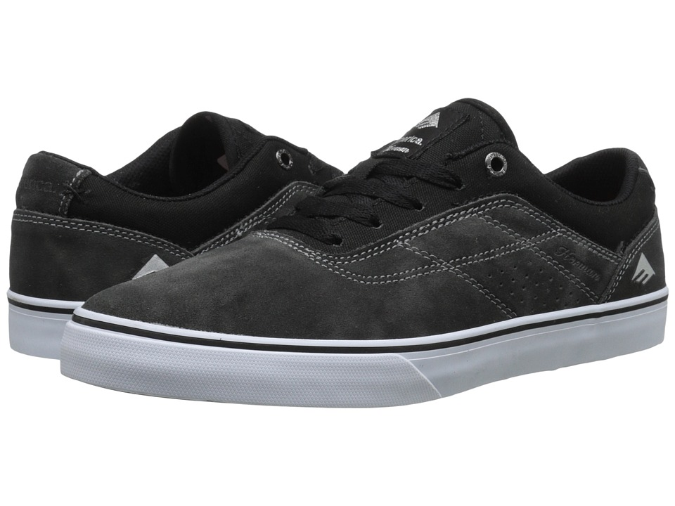 Emerica - The Herman G6 Vulc (Black/Print) Men's Skate Shoes
