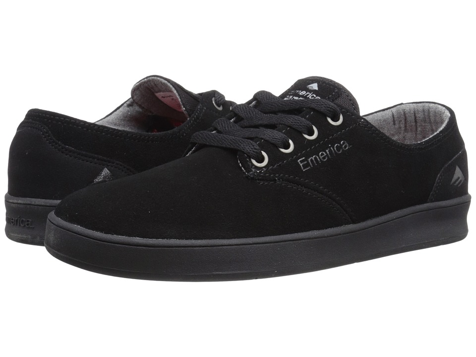 Emerica - The Romero Laced (Black/Black/Black) Men's Skate Shoes