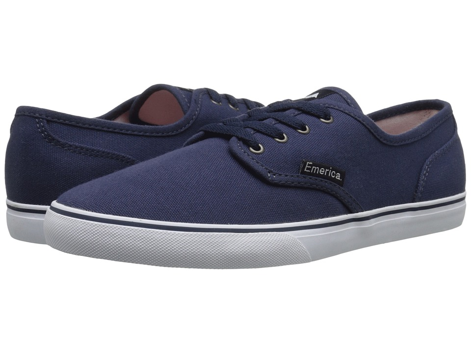 Emerica - Wino Cruiser (Navy) Men's Skate Shoes