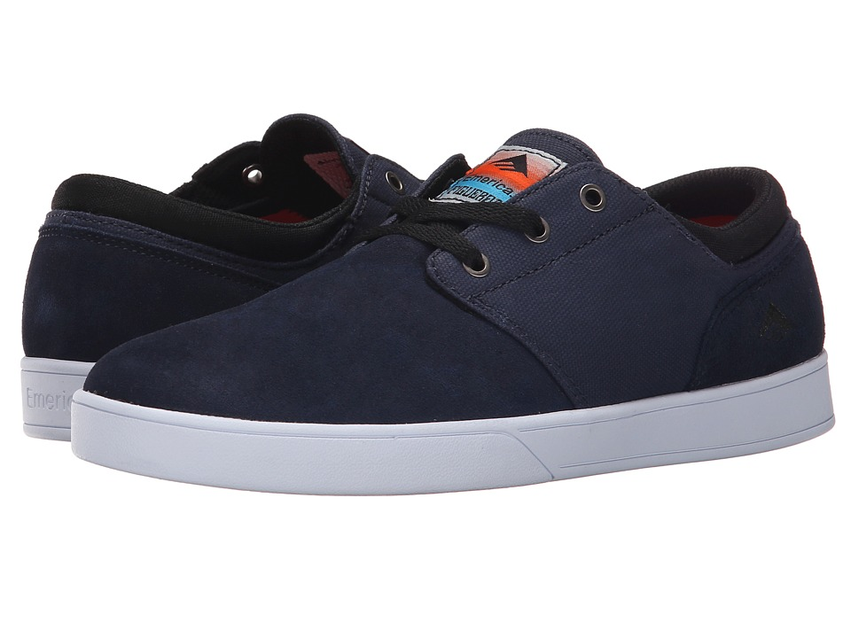 Emerica - The Figueroa (Blue/Black/White) Men's Skate Shoes