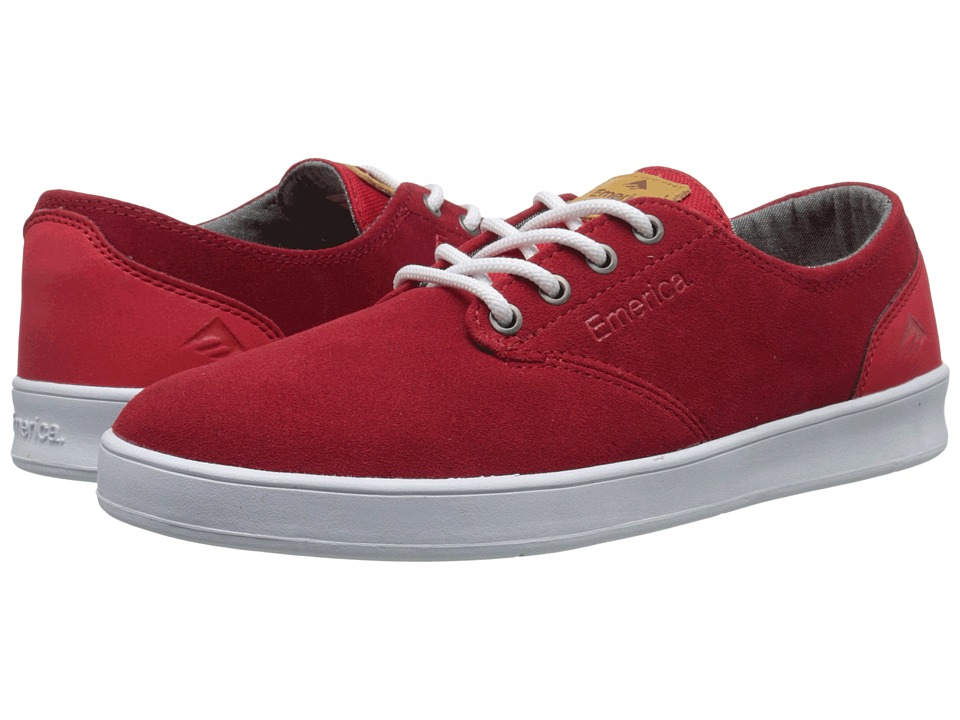 Emerica - The Romero Laced (Red) Men's Skate Shoes