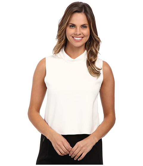 Vince Camuto - Mock Neck Shell Top (New Ivory) Women's Blouse