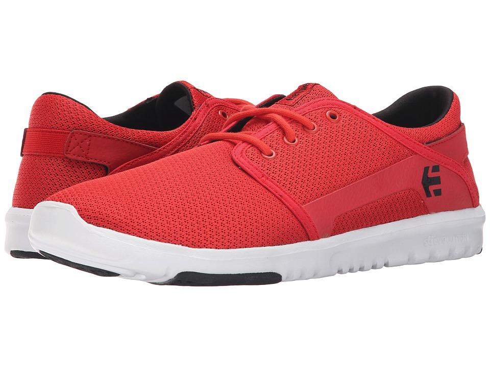 etnies - Scout (Red/White/Black) Men's Skate Shoes