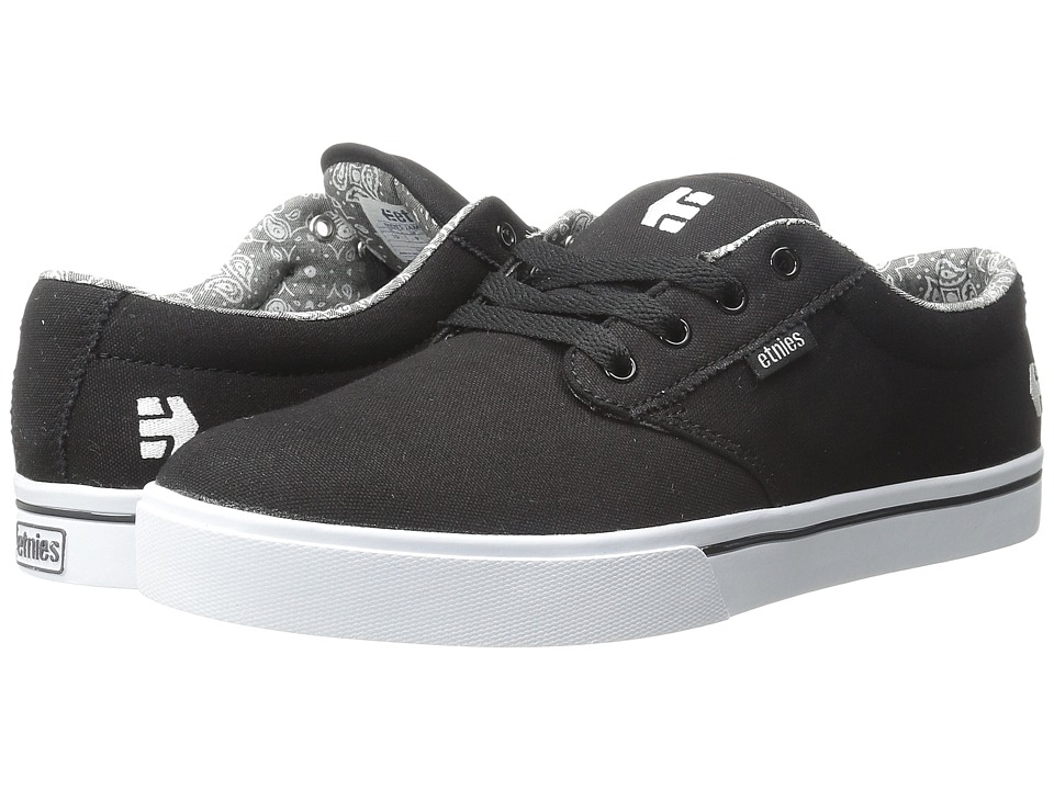 etnies - Jameson 2 Eco (Black/White/Print) Men
