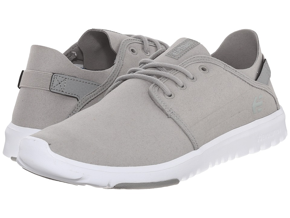 etnies - Scout (Grey/Light Grey) Men's Skate Shoes