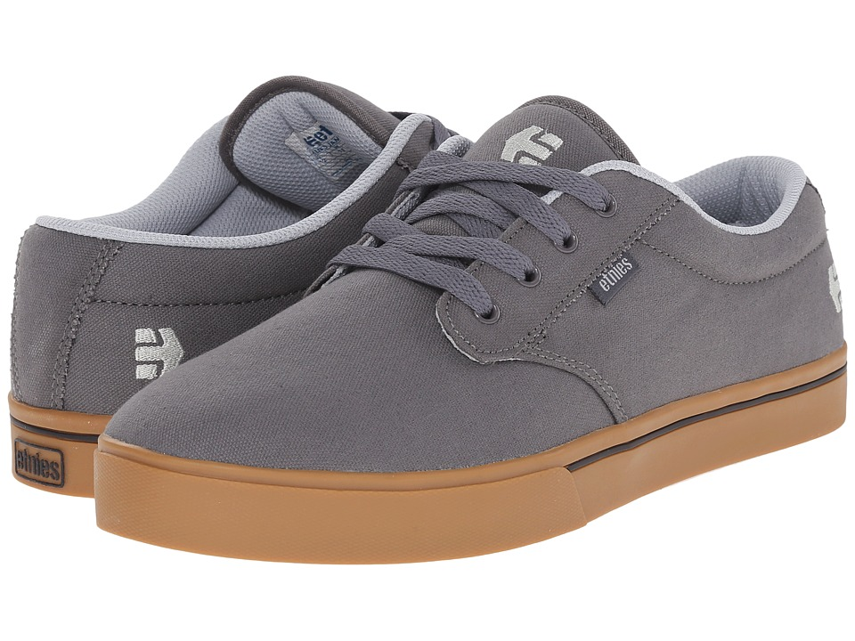 etnies - Jameson 2 Eco (Grey/Grey) Men's Skate Shoes