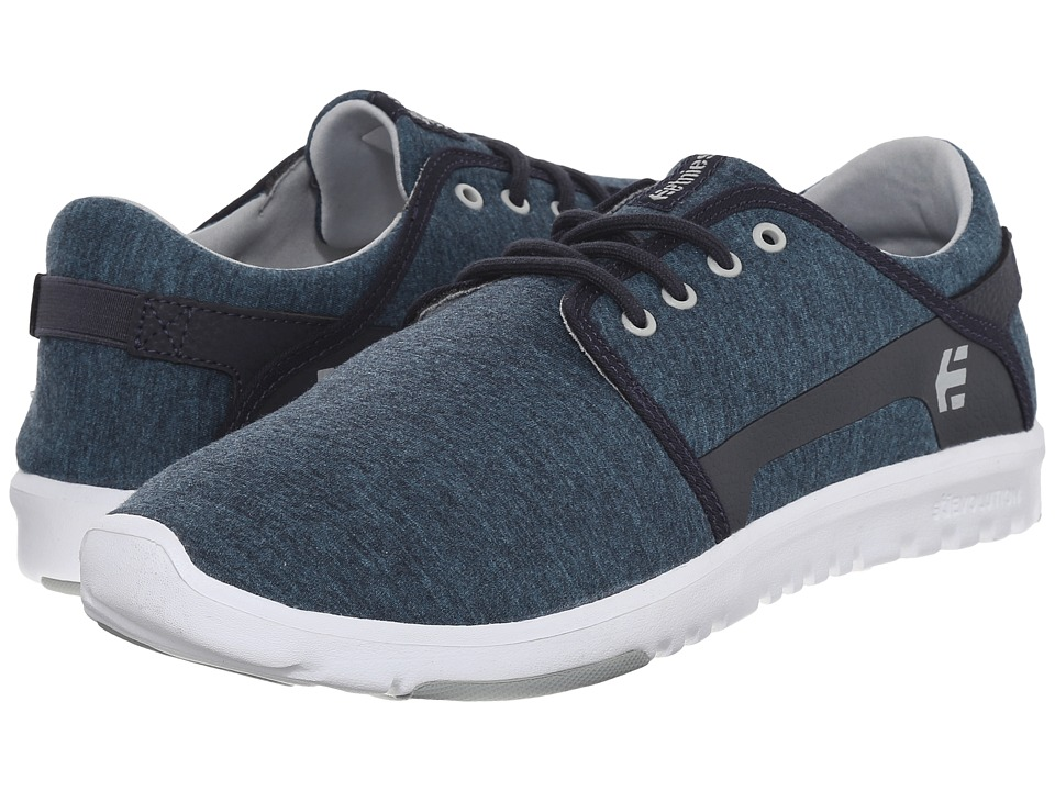 etnies - Scout (Navy/Grey/White) Men's Skate Shoes
