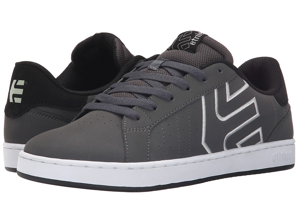 etnies Fader LS (Dark Grey/Black/White) Men's Skate Shoes