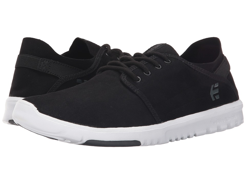 etnies - Scout (Black/Dark Grey) Men's Skate Shoes