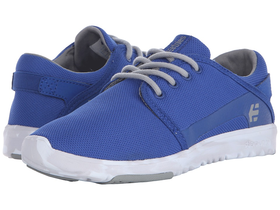 etnies - Scout (Blue/Grey/White) Men's Skate Shoes