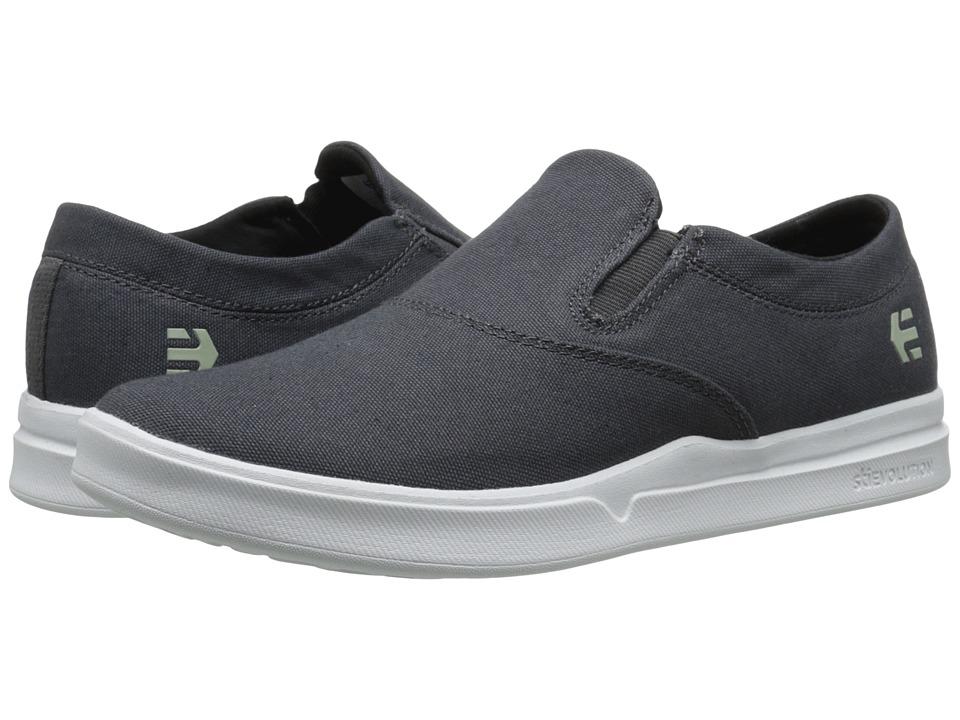 etnies - Corby Slip SC (Grey) Men's Skate Shoes