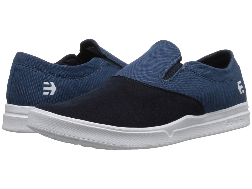 etnies - Corby Slip SC (Navy/Blue/White) Men