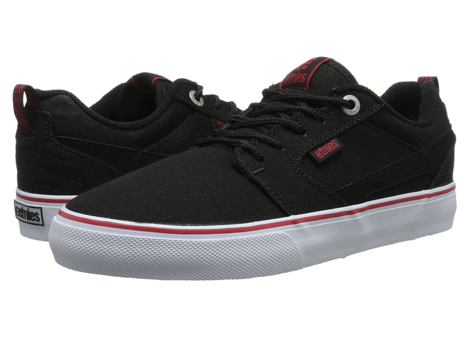 etnies - Rap CT (Black/White/Red) Men's Skate Shoes