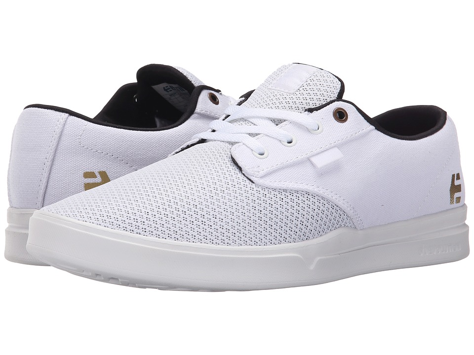 etnies - Jameson SC (White) Men's Skate Shoes