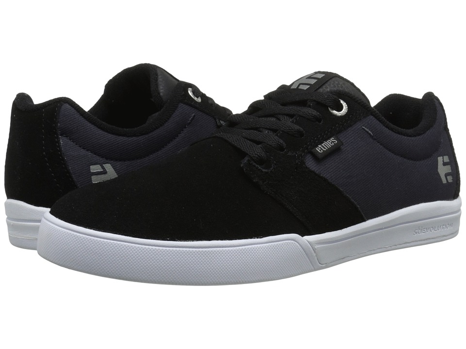 etnies - Jameson E-Lite (Black/Navy) Men's Skate Shoes