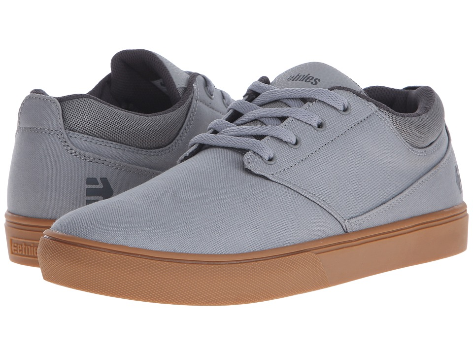 etnies - Jameson MT (Grey/Gum) Men's Skate Shoes