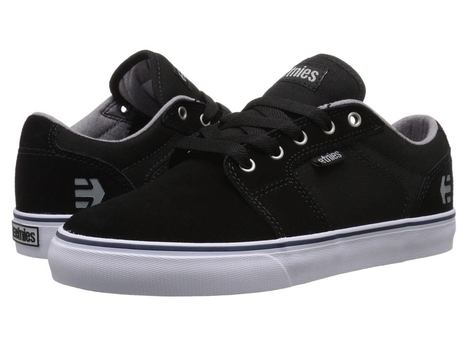 etnies - Barge LS (Black/White) Women's Skate Shoes