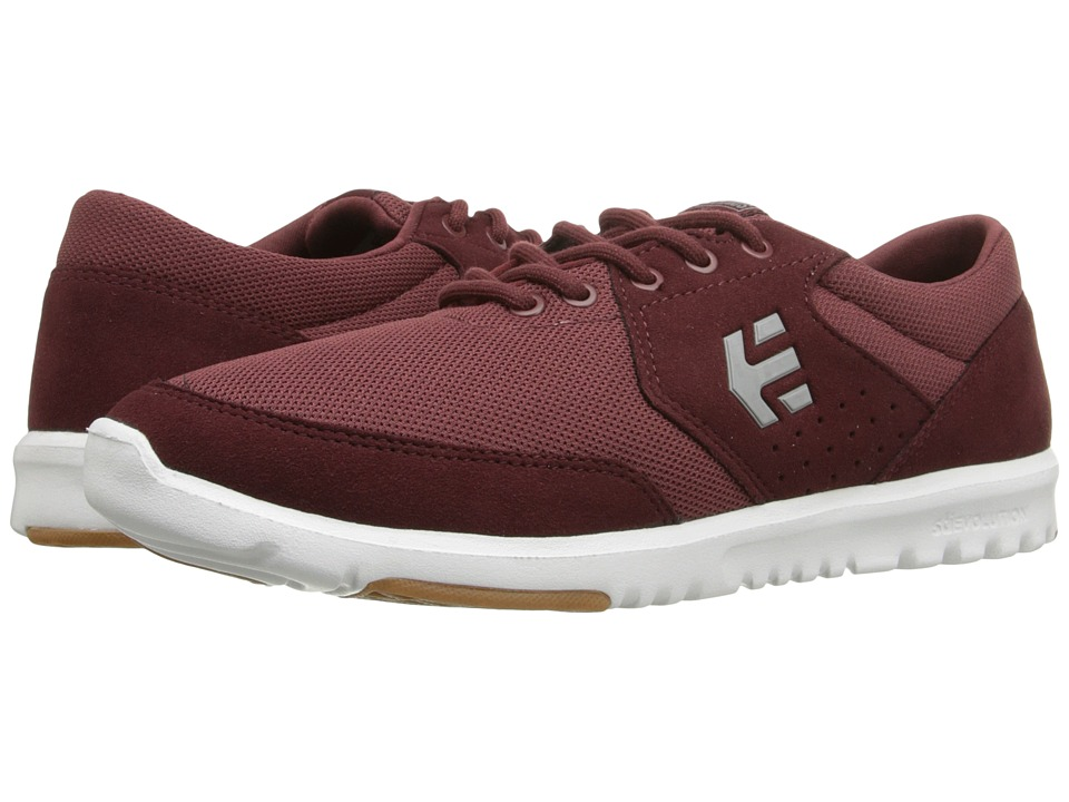 etnies - Marana SC (Burgundy) Men's Skate Shoes