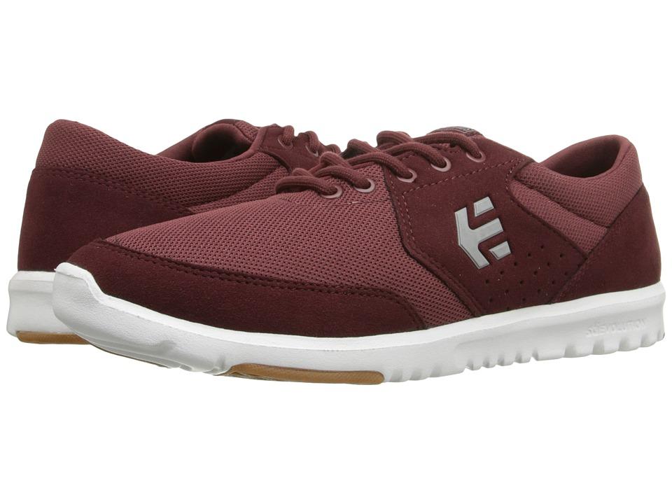 etnies - Marana SC (Burgundy) Men's Skate Shoes