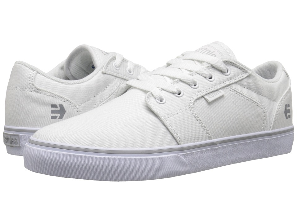 etnies - Barge LS (White) Women's Skate Shoes
