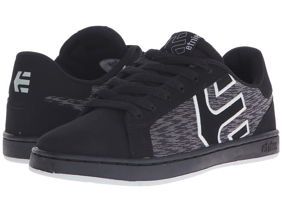 etnies - Fader LS W (Black/Black/Grey) Women's Skate Shoes