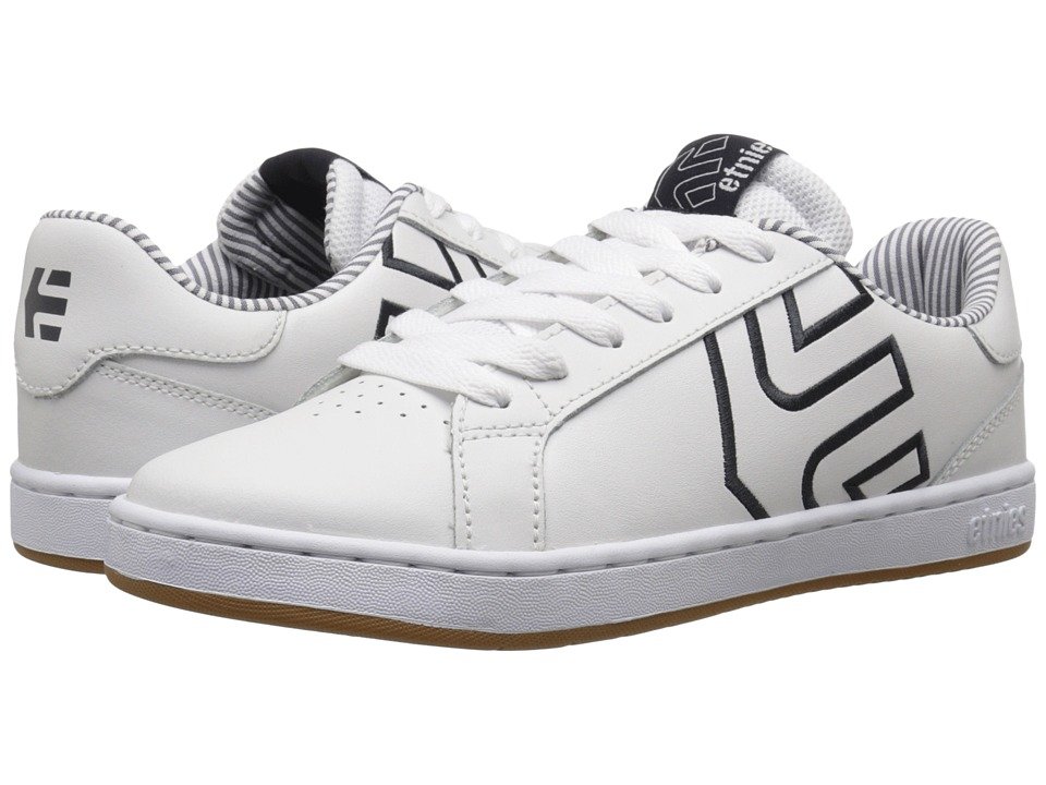 etnies - Fader LS W (White/Navy/Gum) Women's Skate Shoes