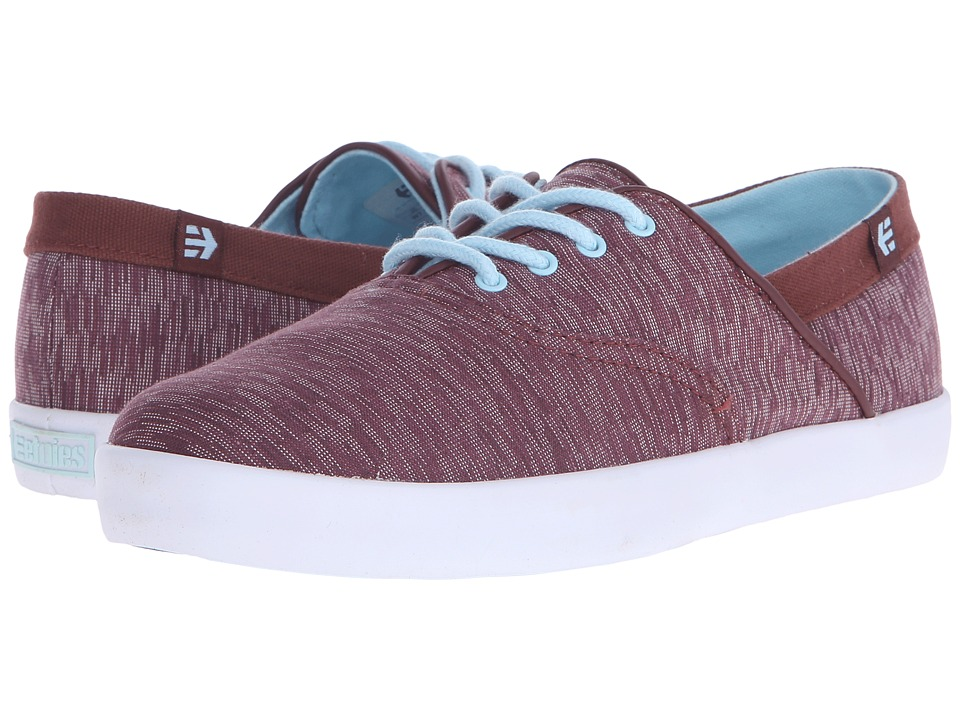 etnies - Corby W (Burgundy) Women's Skate Shoes